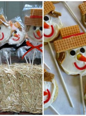 Scarecrow Bake Sale Treats! |ReluctantEntertainer.com
