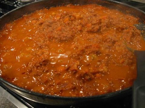 Beef Bolgonese