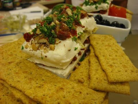 Cream cheese appetizer