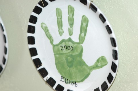 Elliot hand plate