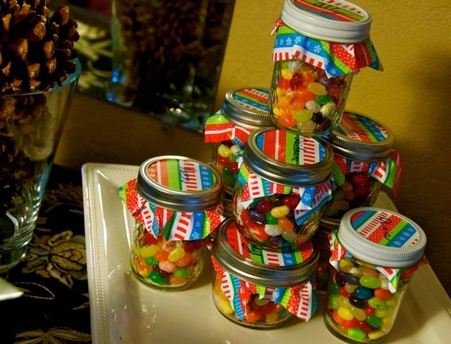 Jelly Bean Jars Inexpensive Christmas Gifts Reluctant