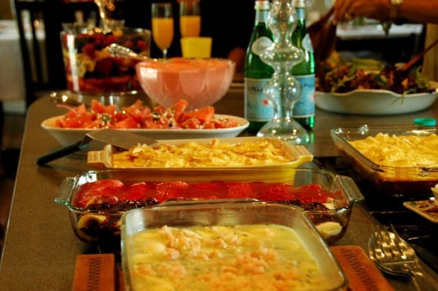 How To Serve A Relaxed Easter Buffet Reluctant Entertainer