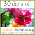 30 days of Summer Entertaining