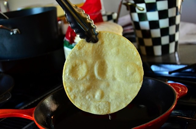 How to Fry Corn Tortillas