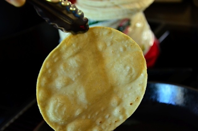 Super easy How to Fry Corn Tortillas