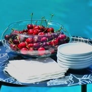 Cherries by the pool