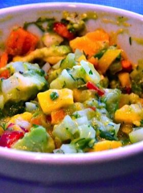 Honey Mango Salsa