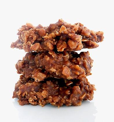 Peanut no bake cookies recipe