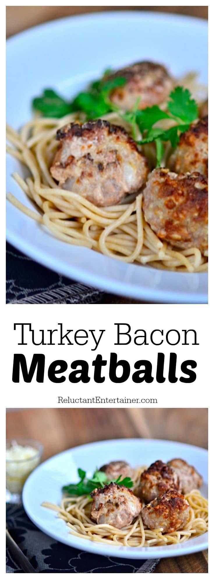 Turkey Bacon Meatballs Recipe