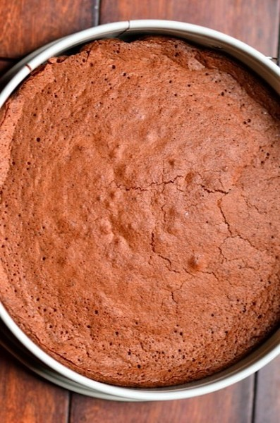 Dark Chocolate Flourless Cake