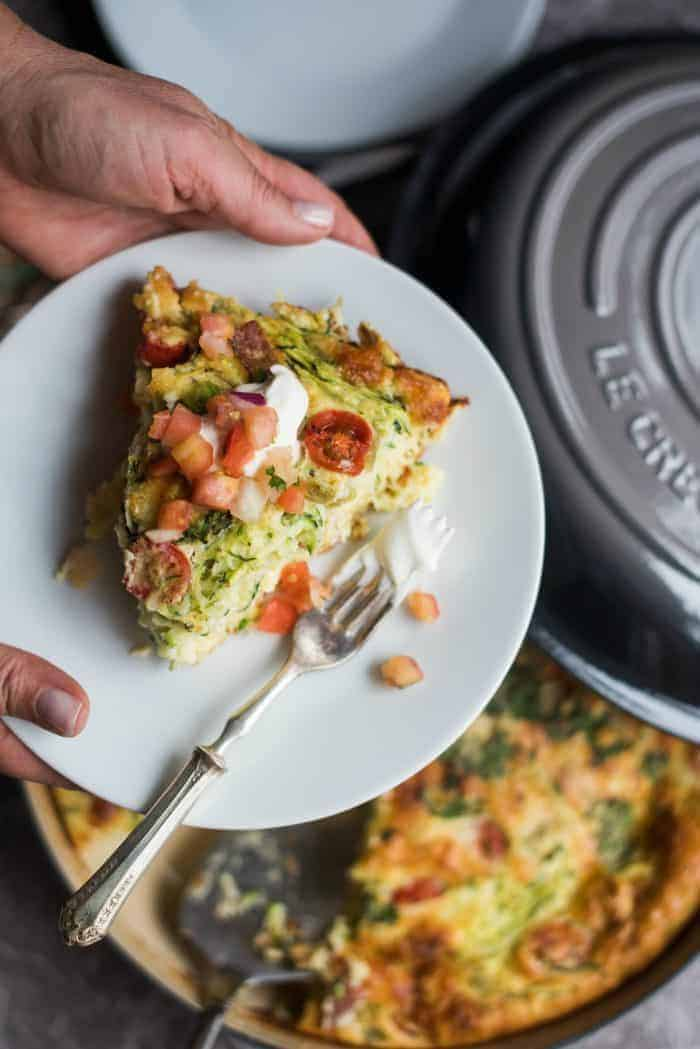 How to Make Impossible Quiche Pie