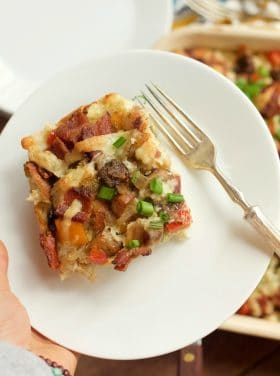 Winter Breakfast Casserole Recipe