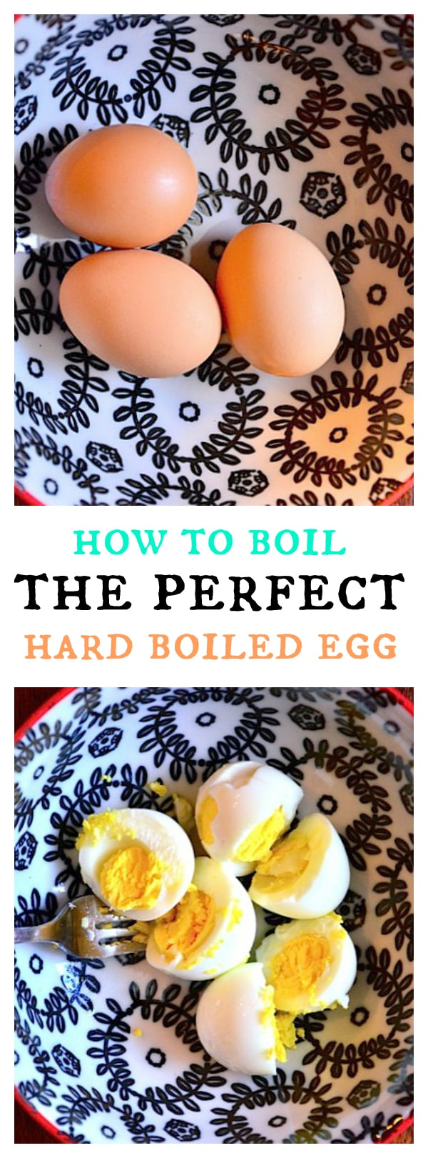 How to boil the perfect {peelable} EGG!