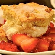 Rosemary Strawberry Shortcake