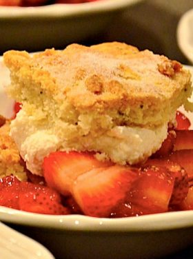 Rosemary Strawberry Shortcake