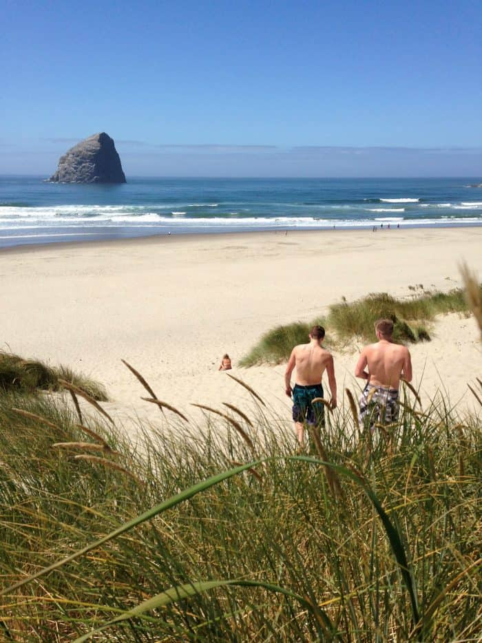 Best beach: Pacific City, OR