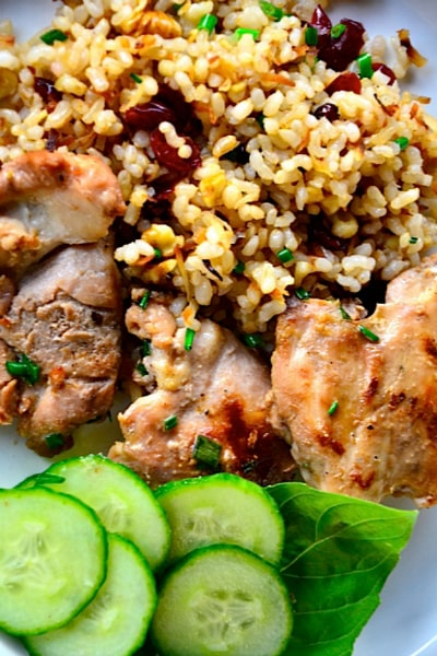 This Coconut Milk Chicken Thighs Recipe is a great weeknight meal, and ...