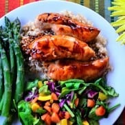 Baked Teriyaki Chicken Tenders | reluctantentertainer.com