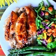 Baked Teriyaki Chicken Tenders | ReluctantEntertainer