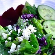Beet and Feta Green Salad