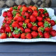Entertaining with Strawberries via @ReluctantEntertainer