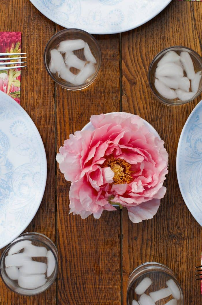 Fresh Peonies for Entertaining - PINK