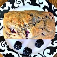 Whole Wheat Blackberry Bread | Reluctant Entertainer