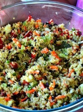 Quinoa and Currant Summer Salad Recipe