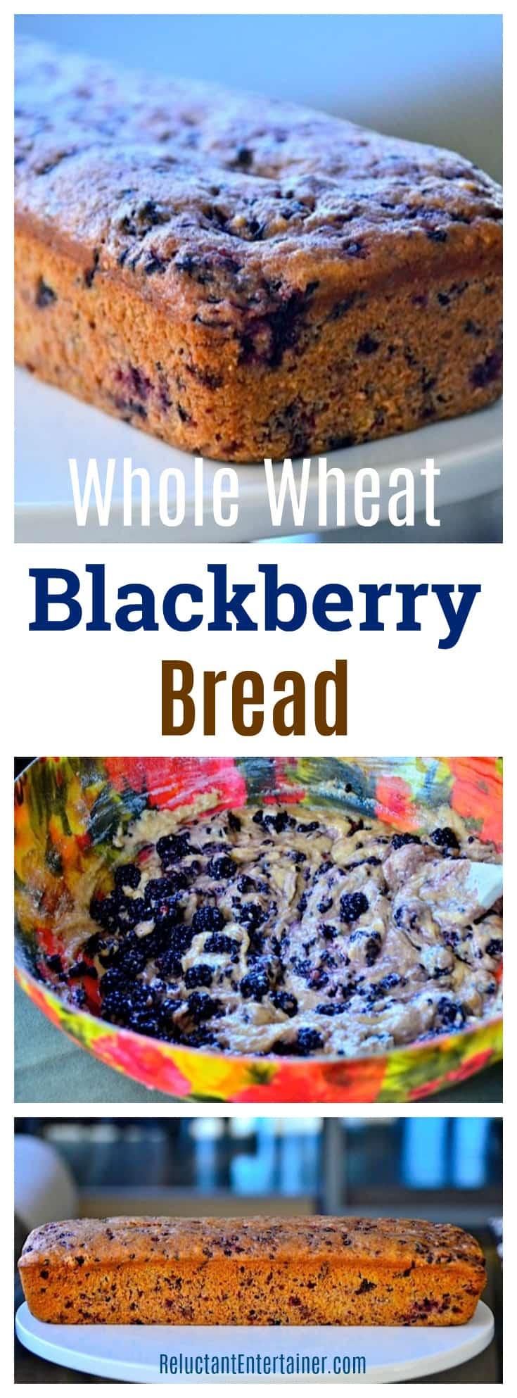 Green Valley Organic Whole Wheat Blackberry Bread Recipe