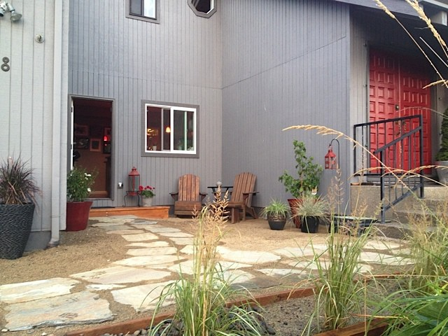 Diy Phase One Lowe S Courtyard Project Complete