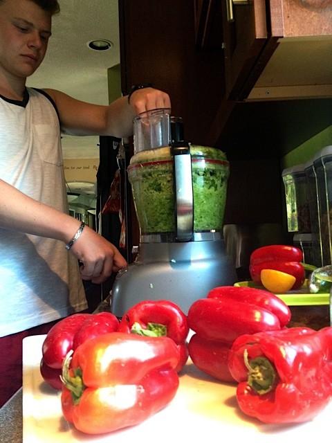 Sweet Smokey Zucchini Salsa Recipe - how to