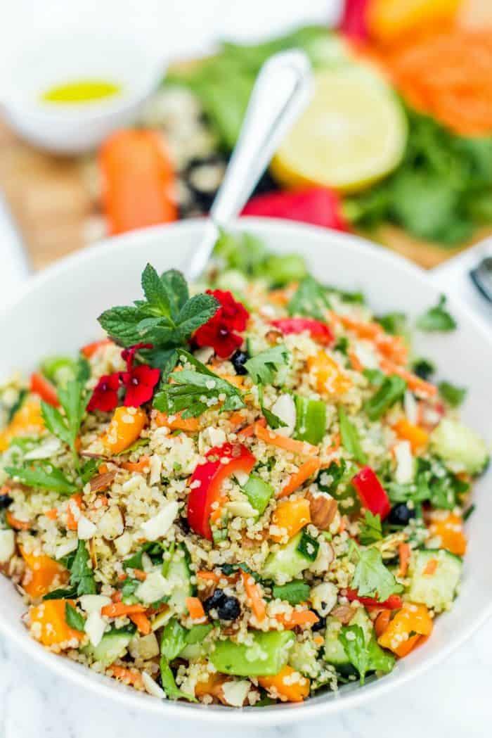 Quinoa And Currant Summer Salad