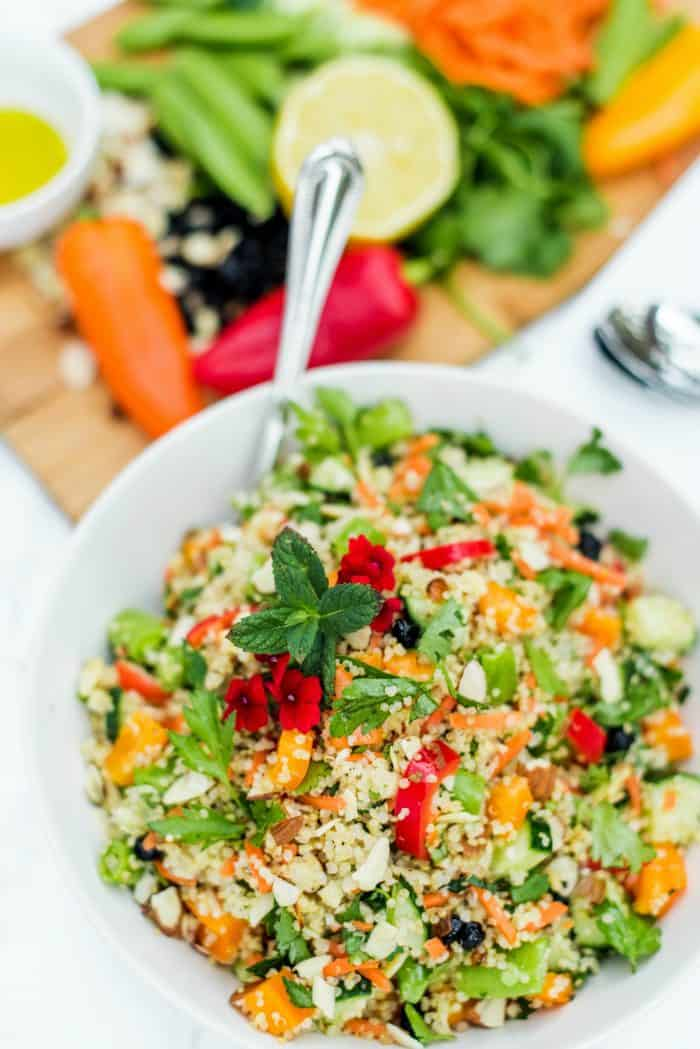 BEST Quinoa and Currant Summer Salad Recipe