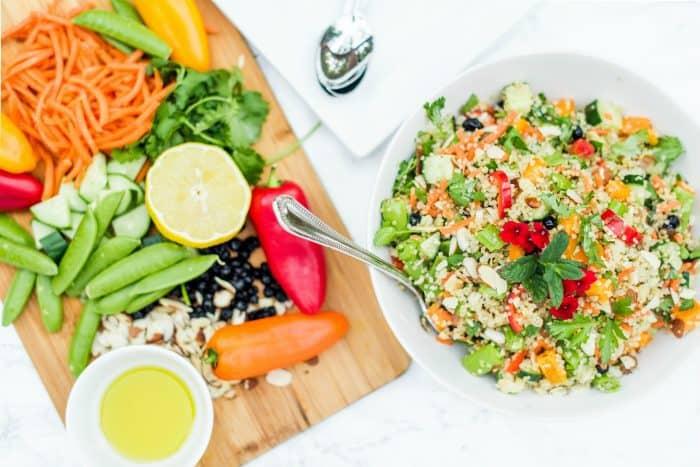 Easy Quinoa and Currant Summer Salad Recipe