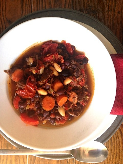 Day 25 Gathering Bush S Beans Chuck Roast Chili With
