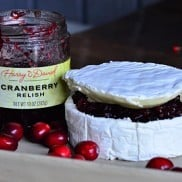 Brie Cheese and Cranberry Relish | Reluctant Entertainer