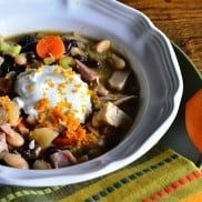 Bush's Beans One-Pot Citrus Chicken Chili | Reluctant Entertainer
