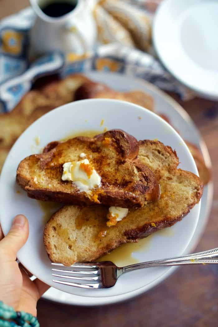 Challah French Toast Breakfast Recipe