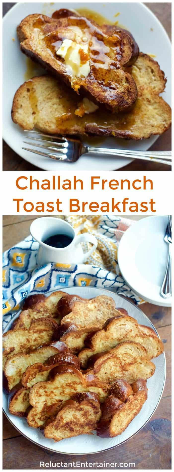 Challah French Toast Breakfast Recipe