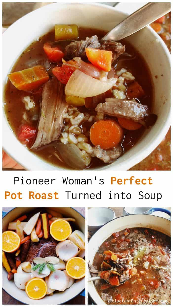 Pioneer Woman's Perfect Pot Roast Turned into Soup