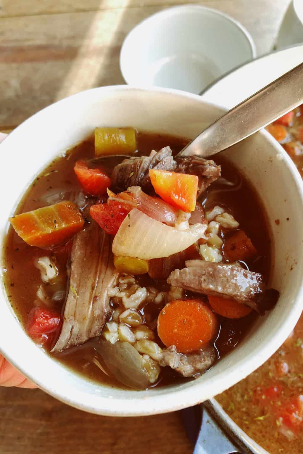 The Pioneer Woman's Perfect Pot Roast Turned into Soup