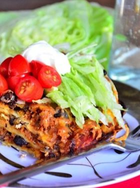 Layered Enchilada Bake Recipe