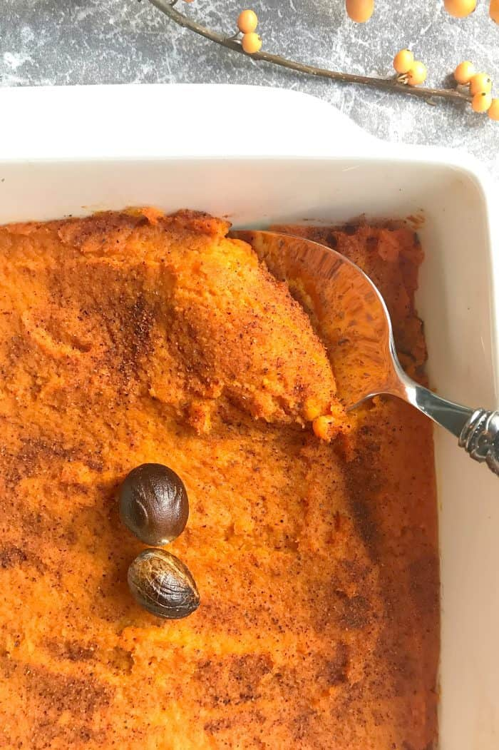 Delicious Carrot Souffle Side Dish Recipe