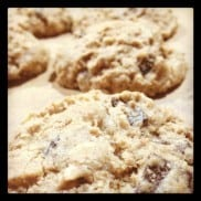 Picky Palate's Almond Lovers' Chocolate Chip Cookies | ReluctantEntertainer.com
