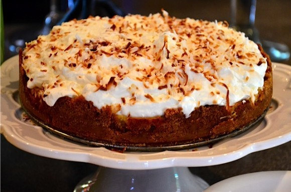 Coconut Key-Lime Pie   Reluctant Entertainer