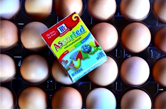 McCormick® Assorted Food Colors Tips and Fool-Proof Hard-Cooked Eggs
