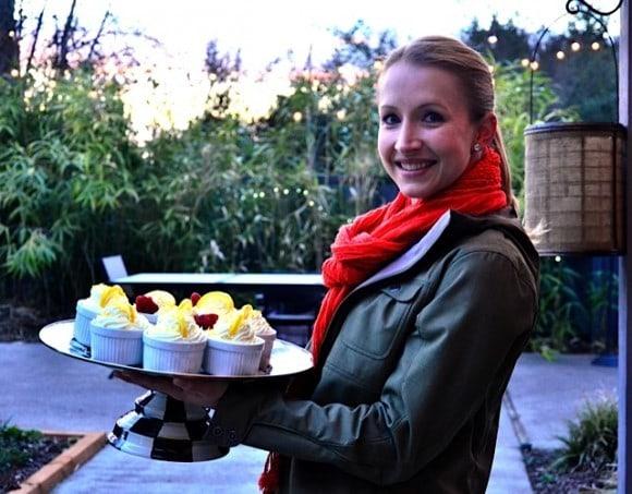 Light Lemon Cheesecake Mousse - Lisa