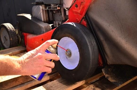 Fixing mower