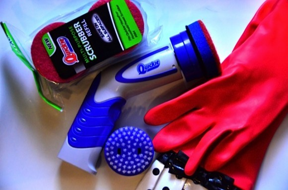 Quickie Power Scrubber | www.reluctantentertainer.com