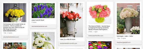 Pinterest Sandy Coughlin Blooms & Brancches